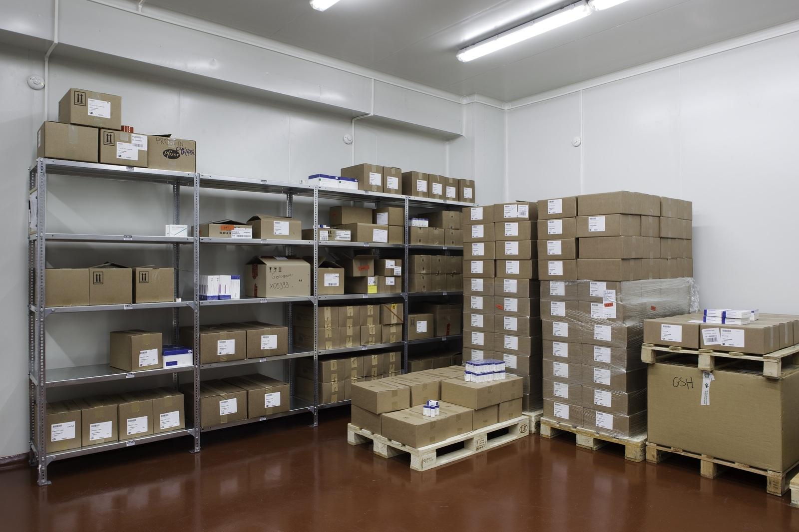 pharmaceutical warehouse